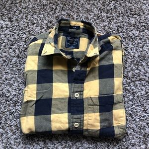 Abercrombie & Fitch Men's Flannel Button Down